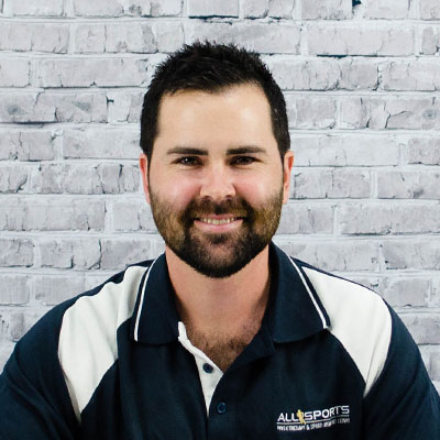 Casey Boston - Allsports Physiotherapy Physiotherapist