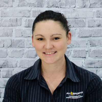Kylie Brown - Allsports Physiotherapy Physiotherapist