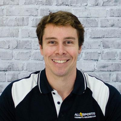 Rob Ceccato - Allsports Physiotherapy Senior Physiotherapist