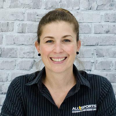 Emily Hodkinson - Allsports Physiotherapy Physiotherapist