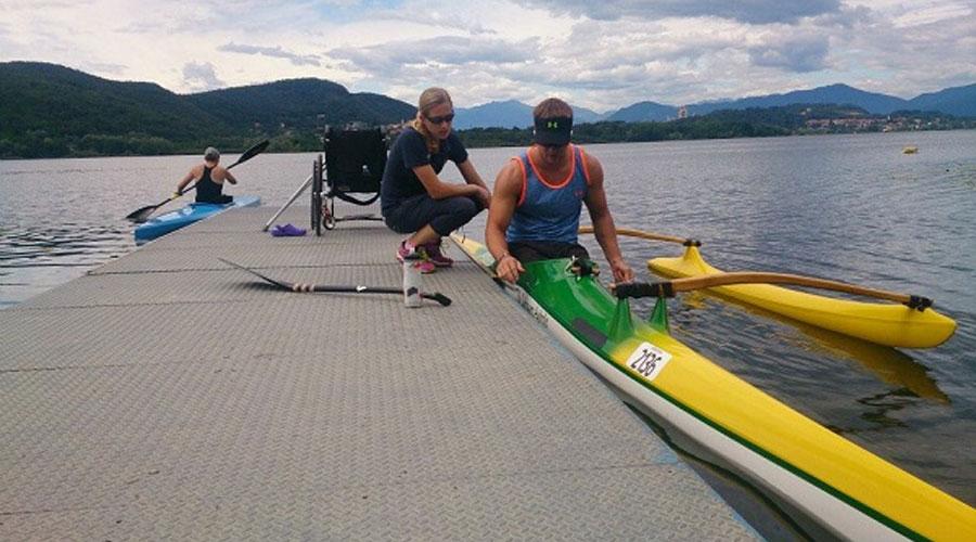 2017 RIO Paralympics with Physiotherapist Melissa Nolan