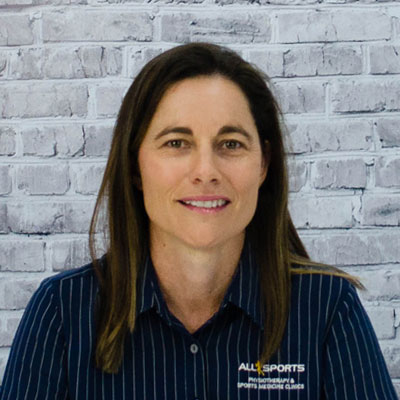 Kathy Mitchell - Allsports Physiotherapy Senior Physiotherapist