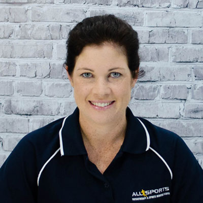 Kym O'Connor - Allsports Physiotherapy Physiotherapist