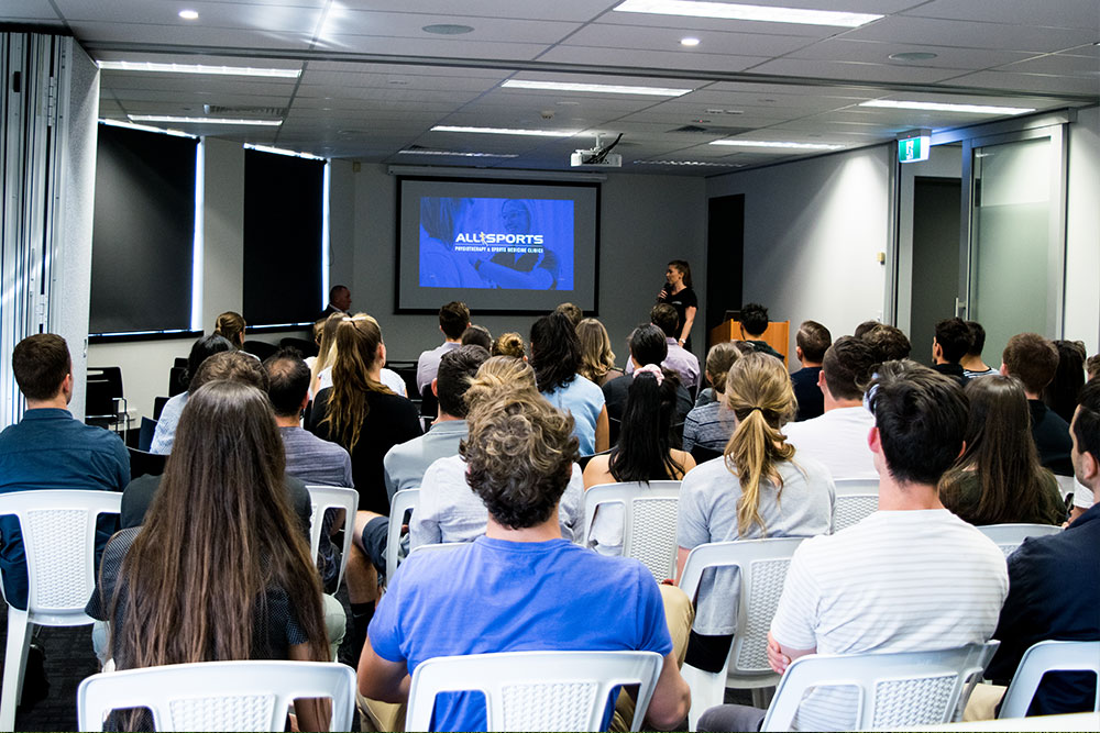 Allsports Physiotherapy New Graduate Information Session