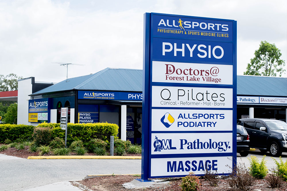 Allsports Physiotherapy Forest Lake clinic