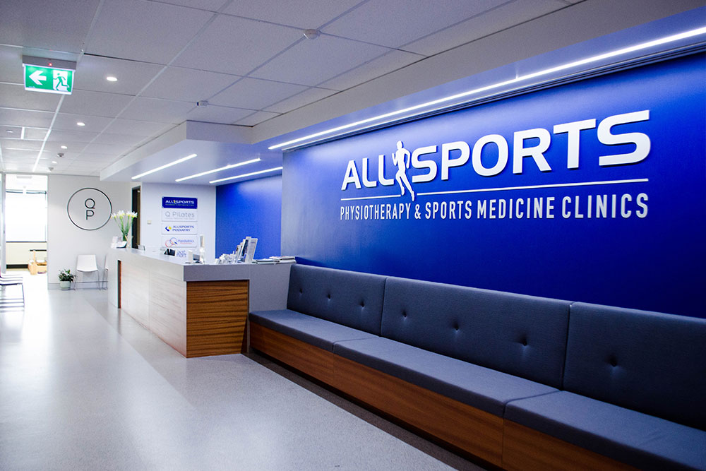 Allsports Physiotherapy Indooroopilly Clinic