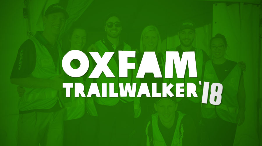 Oxfam Trailwalker 2018 - Allsports Physiotherapist