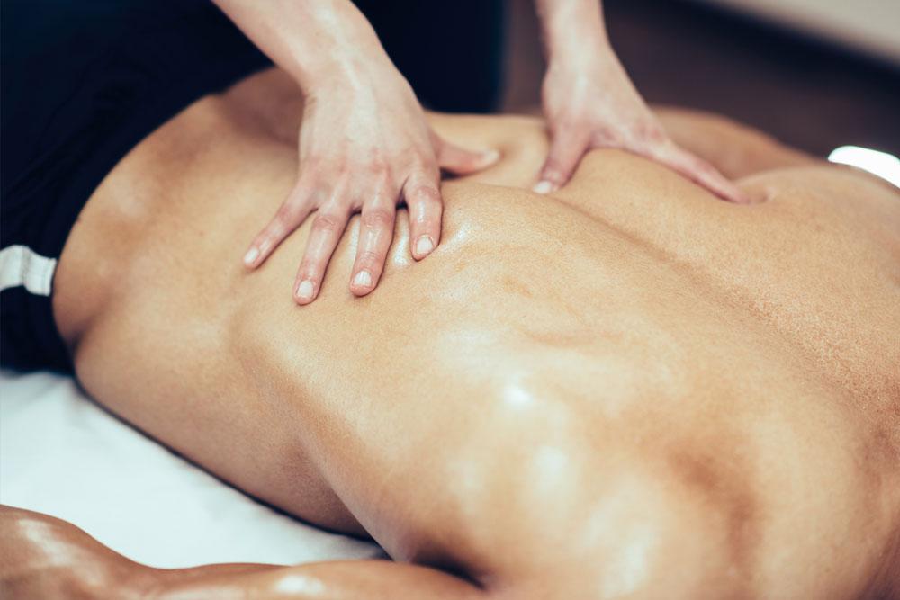 Deep tissue remedial massage