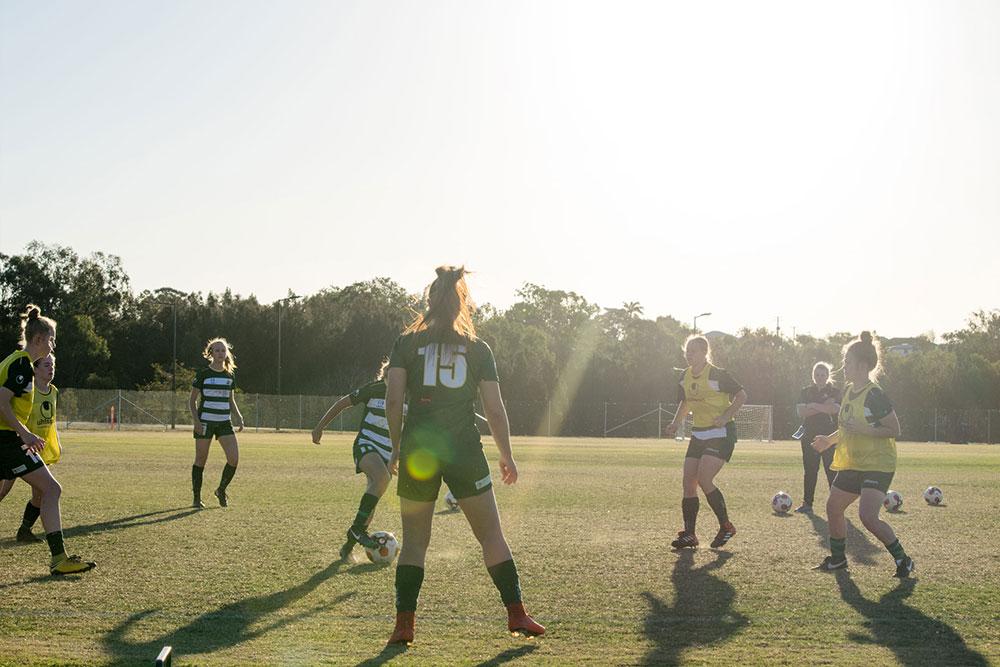 Western pride Women's Football Team
