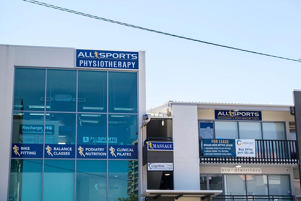 Allsports Physiotherapy Kangaroo Point