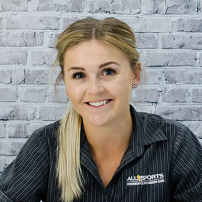 Siobhan Shirlaw - Allsports Physiotherapy Physiotherapist