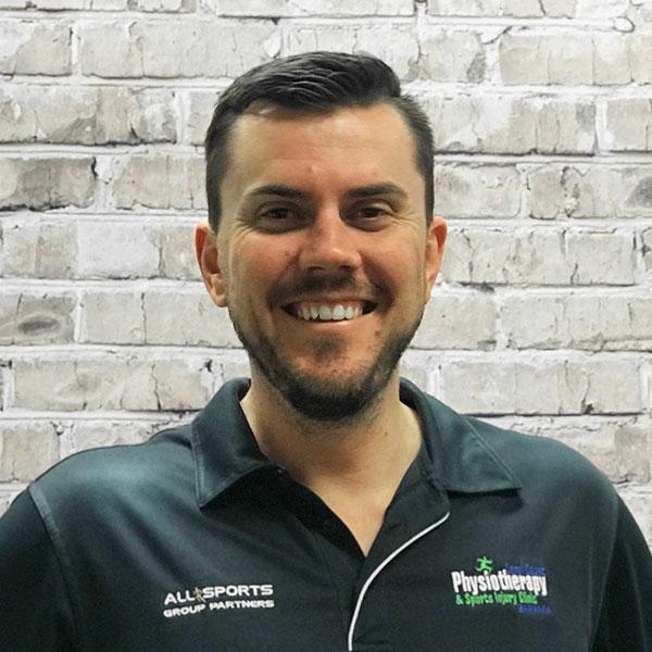 Physiotherapist Ben Heidenreich