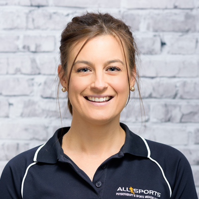 Physiotherapist Lara Cooper