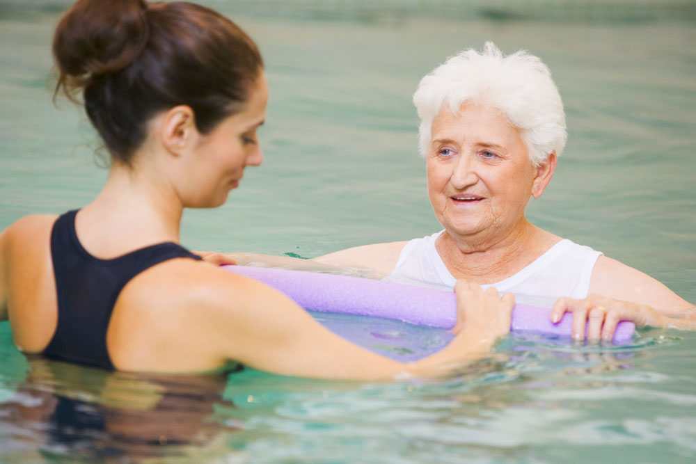 Physiotherapist led hydrotherapy