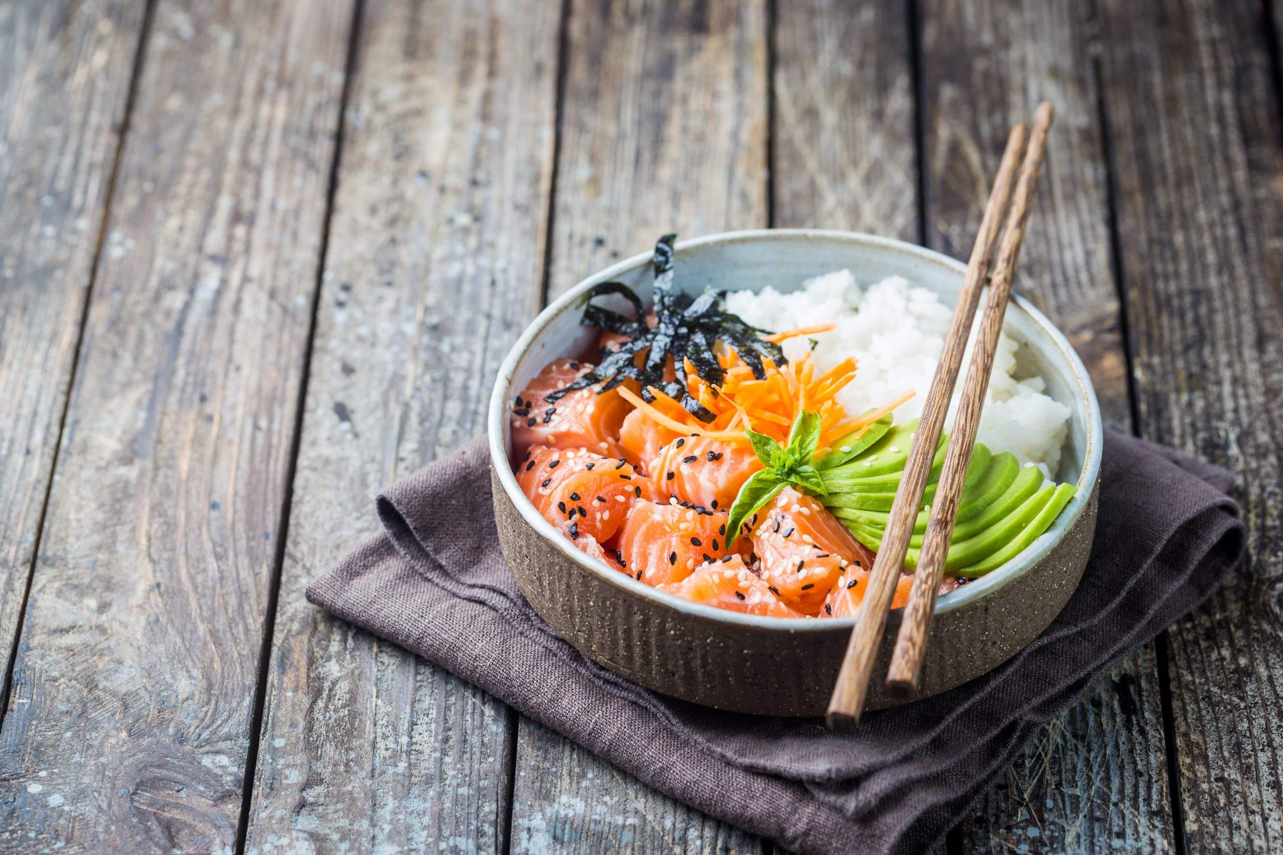 Delicious DIY sushi bowl recipe