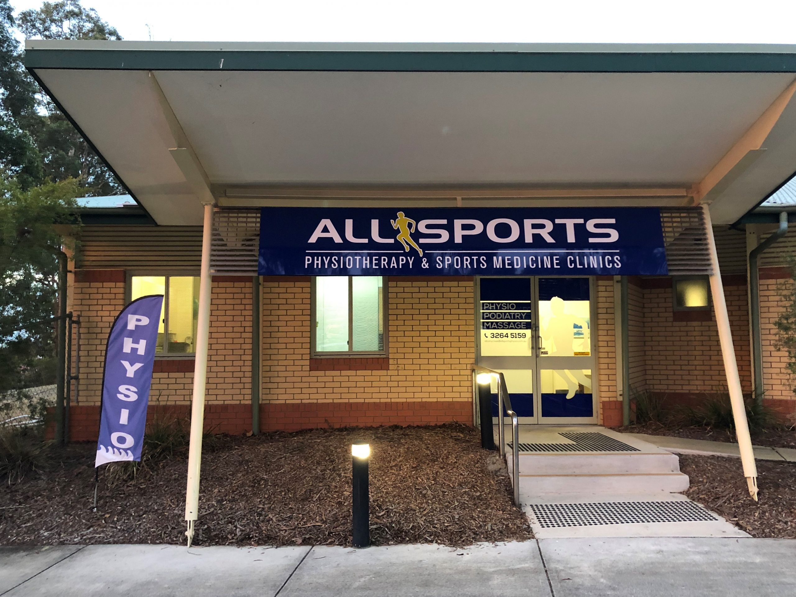 Allsports Physiotherapy Albany Creek - entrance