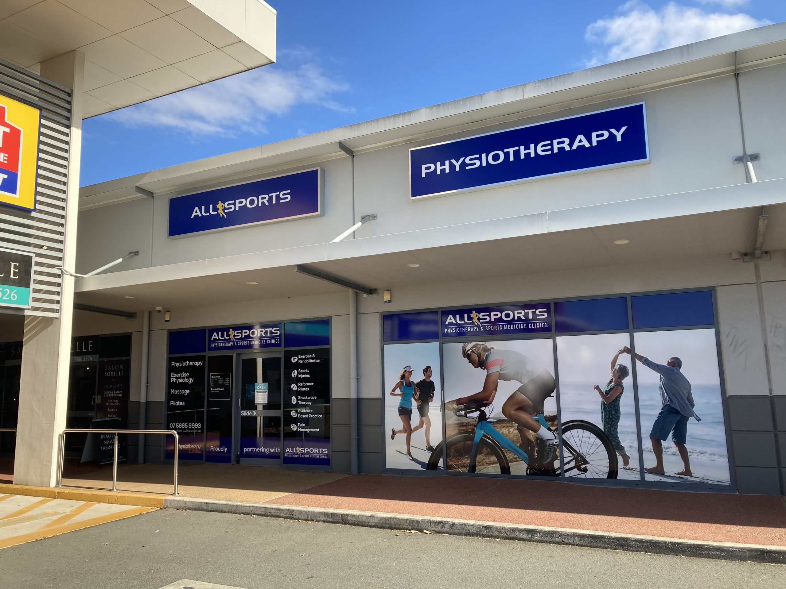 Allsports Physiotherapy - Helensvale clinic