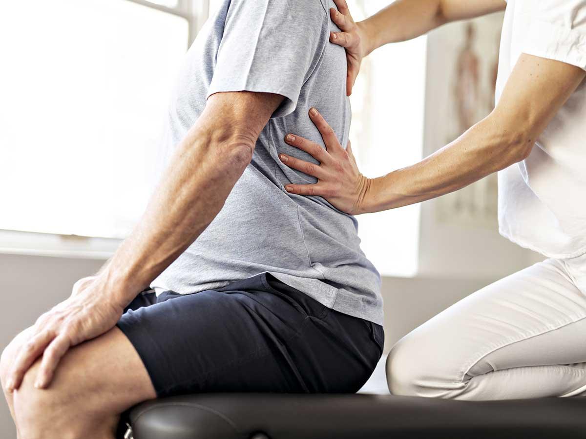 Treatment at Allsports Occupational Health