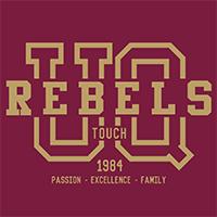 UQ Rebels Touch Logo